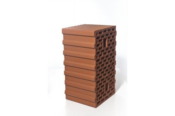 Керамический блок Браер поризованный 12,4 НФ