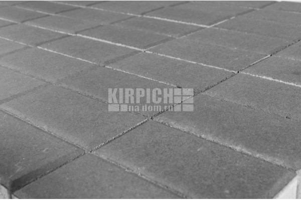 Тротуарная плитка Braer Прямоугольник Серый 240x120 мм