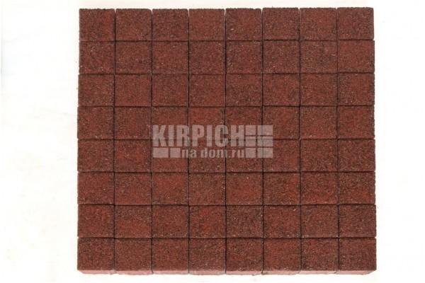 Тротуарная плитка Braer Лувр Гранит Красный