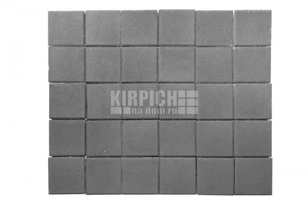 Тротуарная плитка Braer Лувр Серый