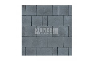 Тротуарная плитка Braer Мозаика Серый