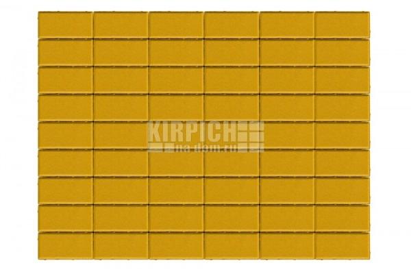 Тротуарная плитка Braer Прямоугольник Желтый
