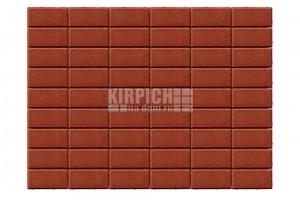 Тротуарная плитка Braer Прямоугольник Красный