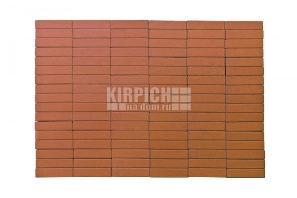 Тротуарная плитка Braer Прямоугольник Оранжевый
