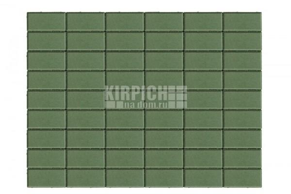 Тротуарная плитка Braer Прямоугольник Зеленый