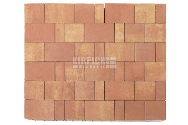 Тротуарная плитка Braer Старый город Ландхаус Color Mix Рассвет