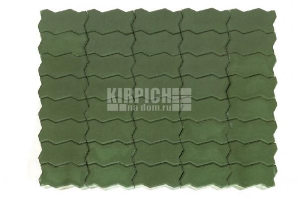 Тротуарная плитка Braer Волна Зеленый