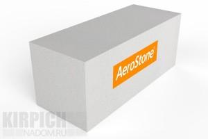 Газобетонный стеновой блок Aerostone Дмитров 625x250x250 D500