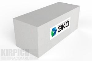 Газобетонный блок Эко Ярославль 600x250x200 D500