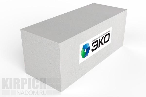 Газобетонный стеновой блок Эко Ярославль 600x250x500 D400
