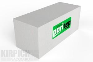 Блок газобетонный стеновой Poritep 625x250x300 D500