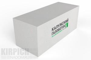 Блок стеновой Калужский газобетон 625x250x250 D600
