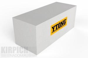 Стеновой газобетонный блок из ячеистого бетона Ytong 625x250x200 D500