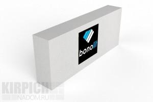 Блок газобетонный перегородочный Bonolit Старая Купавна 600x250x100 D500