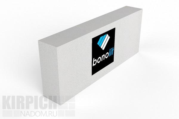 Блок газобетонный перегородочный Bonolit Старая Купавна 600x250x75 D500