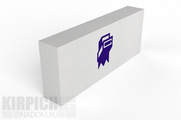 Блок перегородочный из ячеестого бетона КСИ Беларусь 625x200x100 D600