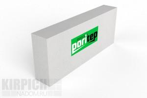 Блок газобетонный перегородочный Poritep 625x250x100 D500