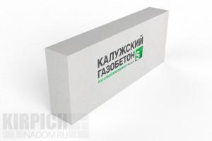 Блок перегородочный Калужский газобетон 625x250x150 D500