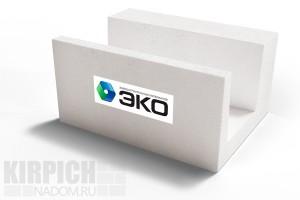Газобетонный U-блок Эко Ярославль 600x300x250