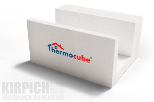 Газосиликатный U-блок Thermocube 600x200x300