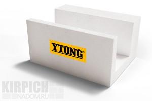 U-образный блок из ячеистого бетона Ytong 500x200x250