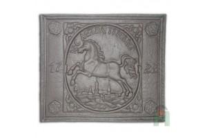 Чугунная плита БРАУНШВЕЙГСКИЙ ГЕРБ 1722