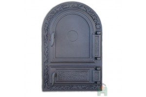 Дверца глухая правая с зольником DW10