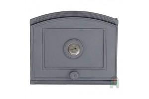 Дверца глухая с термометром правая DP4T