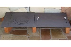 Набор для строительства гриль-печи с плитами