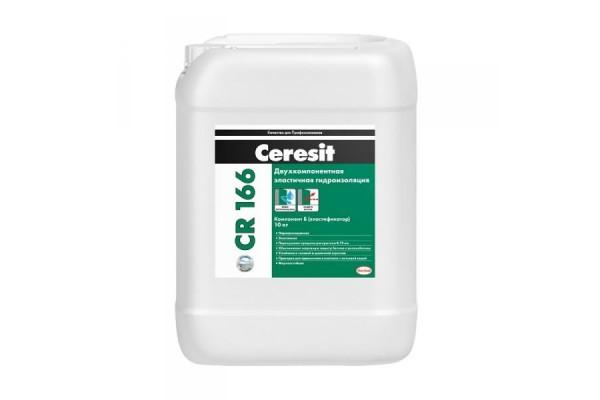 Масса гидроизоляционная Ceresit CR 166 компонент Б 10 кг