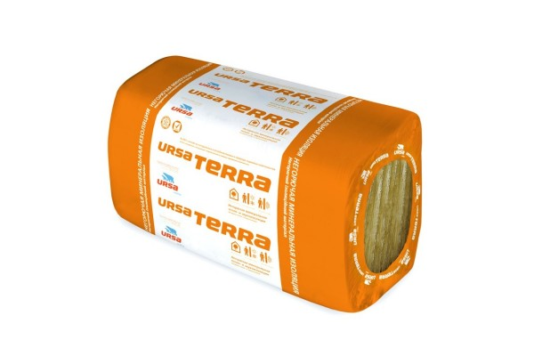 Стекловолокно URSA TERRA 34 PN 10 600x1000x50 мм