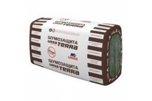 Стекловолокно URSA Terra 34 PN Шумозащита 610х1000х50 мм