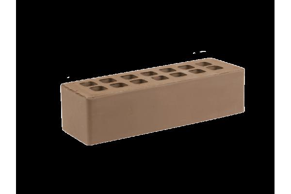 Облицовочный кирпич ЖКЗ темно-коричневый 0,7НФ гладкий