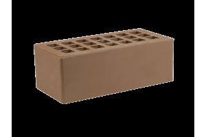 Железногорский облицовочный кирпич темно-коричневый 1,4НФ гладкий