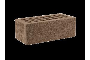 Железногорский облицовочный кирпич темно-коричневый 1,4НФ пена торкретированный