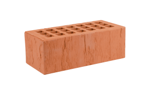 Железногорский облицовочный кирпич красный 1,4НФ скала