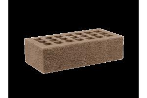 Железногорский облицовочный кирпич темно-коричневый 1НФ пена