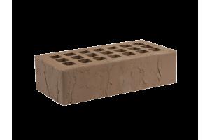 Железногорский облицовочный кирпич темно-коричневый 1НФ скала