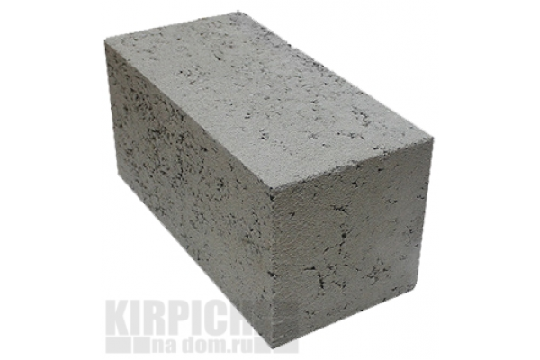 Блоки фундаментные из тяжелого бетона 390 x 190 x 188 мм