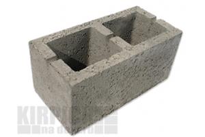 Блоки керамзитобетонные 2-х пустотные