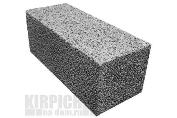 Блоки керамзитовые полнотелые