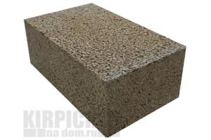 Блоки керамзитобетонные полнотелые М100 390 x 250 x 188 мм