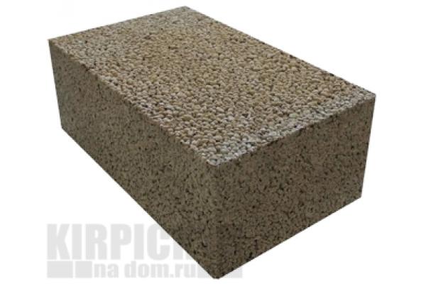 Блоки керамзитобетонные полнотелые М75 390 x 290 x 188 мм