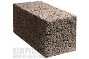 Блоки керамзитобетонные полнотелые М100 390 x 190 x 188 мм