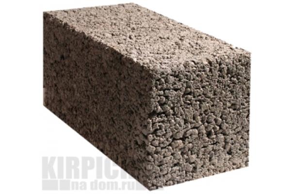 Блоки керамзитобетонные полнотелые М50 390 x 190 x 188 мм