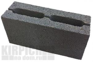 Перегородки керамзитобетонные пустотелые 390х80х188 мм