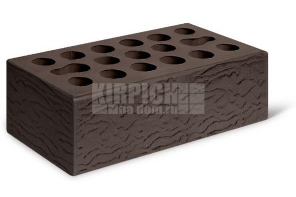 Кирпич лицевой Шоколад риф 1,4 НФ Керма