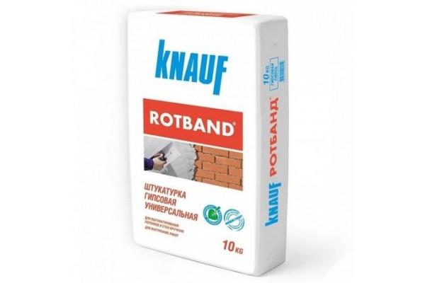 Штукатурка гипсовая Кнауф Ротбанд серая, 10 кг
