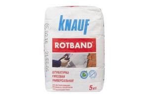 Штукатурка гипсовая Кнауф Ротбанд серая, 5 кг