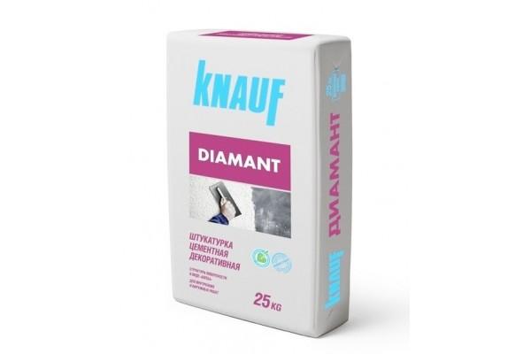 Штукатурка Кнауф Диамант 260 белая декоративная, 25 кг